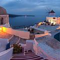 Santorini by Evgeni Dinev
