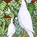 Sapientes Pacis Birds by Lise Winne