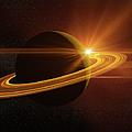 Saturn by Teekid