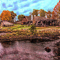 Saugus Ironworks In Autumn by Jeff Folger