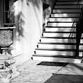 Savannah Light And Shadows On The Stairs by John Rizzuto