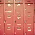 School Lockers by Edward Fielding