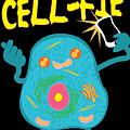 Science Nerd Shirt Cellfie Dad Joke by Mike G