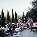 Scio Guests by Slim Aarons