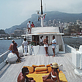 Scottis Yacht by Slim Aarons