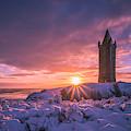 Scrabo Winter Sunrise by Jonny Andrews