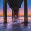 Scripps Pier - 2 by Jonathan Hansen