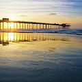 Scripps Pier Golden Hour 1 by Richard A Brown