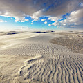 Sea Of Sand - Endless Dunes At White Sands New Mexico by Southern Plains Photography