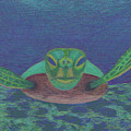 Sea Turtle by Anne Katzeff