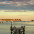 Seal Harbor At Low Tide by Dan Sproul