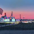 Seaside Heights Boardwalk  by Susan Candelario