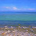 Season Of Blue Water 4  by Lynda Lehmann