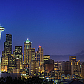 Seattle Skyline by Sebastian Schlueter (sibbiblue)