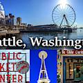 Seattle Washington Waterfront 01 by G Matthew Laughton