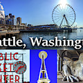 Seattle Washington Waterfront 02 by G Matthew Laughton