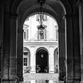 Secret Courtyard In Rome by John Rizzuto