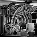 Secretary With Pneumatic Tube by Walter Nurnberg