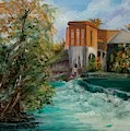 Seguin Hydro Power Plant by Cheryl Damschen