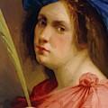 Self Portrait As A Female Martyr 1615 by Gentileschi Artemisia