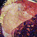 Sensual Danae Abstract Realism  by Isabella Howard