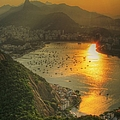 Setting Sun Over Botafogo by By Aj Brustein