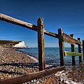 Seven Sisters Through Sea Defences by Dave Godden