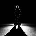Shadows Of Skateboarder by Stephen Cameron Photos