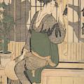 Shadows On The Shoji by Kitagawa Utamaro