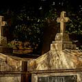Shadowy Cemetery by Jean Noren