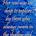 Shallow End by Laura Di Gioia