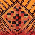 Shaman Tribal Badge by Vagabond Folk Art - Virginia Vivier
