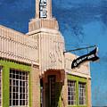 Shamrock, Texas U Drop Inn by Harriet Feagin