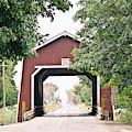 Shimanek Covered Bridge by Scott Pellegrin