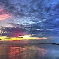 Ship Bottom Sunset by Jeff Breiman
