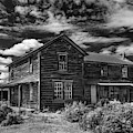 Shirk Ranch Bw by Leland D Howard