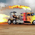 Shockwave Jet Truck - Nhra - Peterbilt Drag Racing by Jason Politte