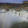 Shoshone Falls Rainbow by Dan Kinghorn