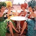 Showgirls At Disneyland by Loomis Dean