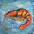 Shrimp by Sharon West Fine Art