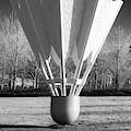 Shuttlecock Sculpture In Infrared - Kansas City Missouri by Gregory Ballos