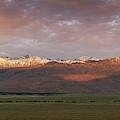 Sierra Nevada Mountain Range Panorama  by Michael Ver Sprill