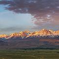 Sierra Nevada Mountain Range Sunrise by Michael Ver Sprill
