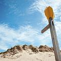 Signpost Through The Dunes II by Helen Northcott