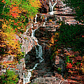 Silver Cascades In The White Mountains by Myloupe/uig