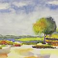 Simple Landscape by Linda Anderson