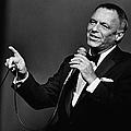 Singer Frank Sinatra In Concert by George Rose