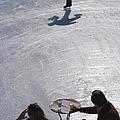 Skating Waiter by Slim Aarons