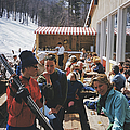 Ski Fashion At Sugarbush by Slim Aarons