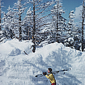 Skier In Vermont by Slim Aarons